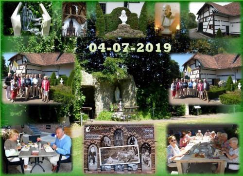 Fietstocht Sweikhuizen-Munstergeleen 4 juli 2019
