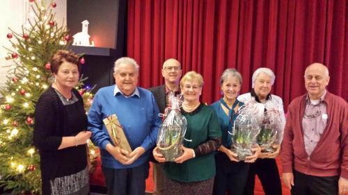 Jubilarissen en benoeming ereleden vrijwilligers Senso