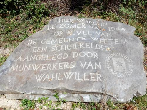 Wandeling  Baneheide-Wahlwiller september 2017