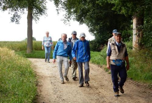 Wandeling 3 juli 2020 Dolberg Klimmen