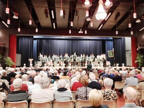 Concert reunie orkest Limburgse Jagers
