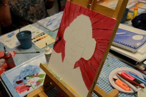Workshop schilderen 29 januari 2018