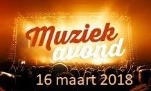 Muziekavond 16 maart 2018