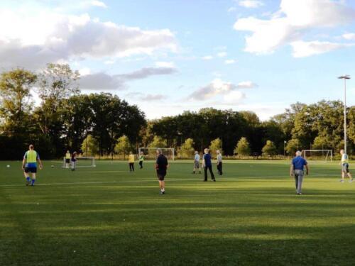 Walking football 5 augustus 2021