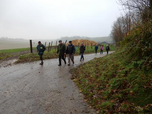 Wandeling Kunderberg december 2017