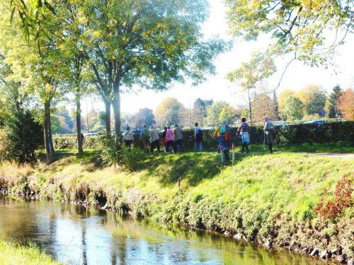 Wandeling 5 oktober 2018 langs de meanderende Geleenbeek