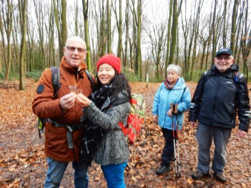 Nieuwjaarswandeling 3 januari 2020 Lemiers-Holset